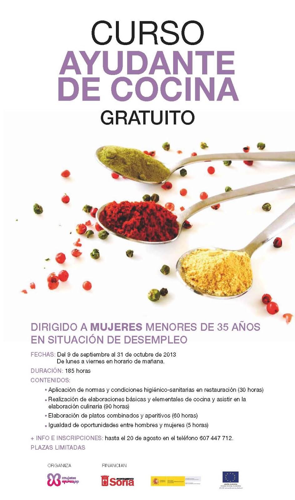 G nero y cooperaci n - Clases de cocina meetic ...