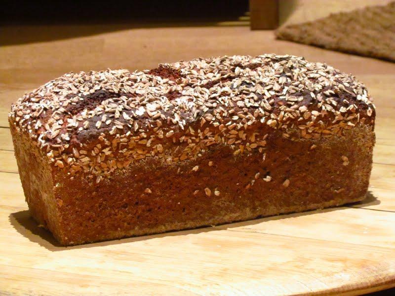 äkta danskt rågbröd recept