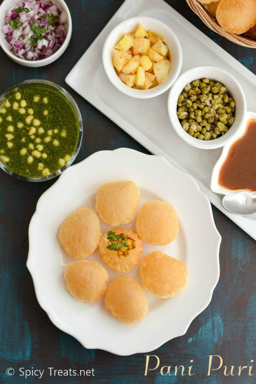 Golgappa - Street Food Recipe