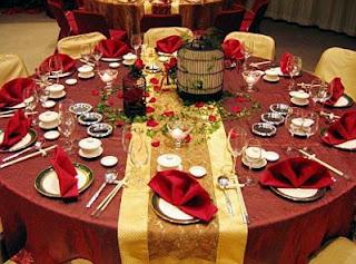 Decoracion de Mesas para Fiestas, parte 3