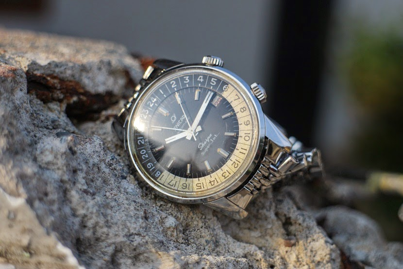 Jam tangan for sale: ENICAR Sherpa Super Jet Automatic