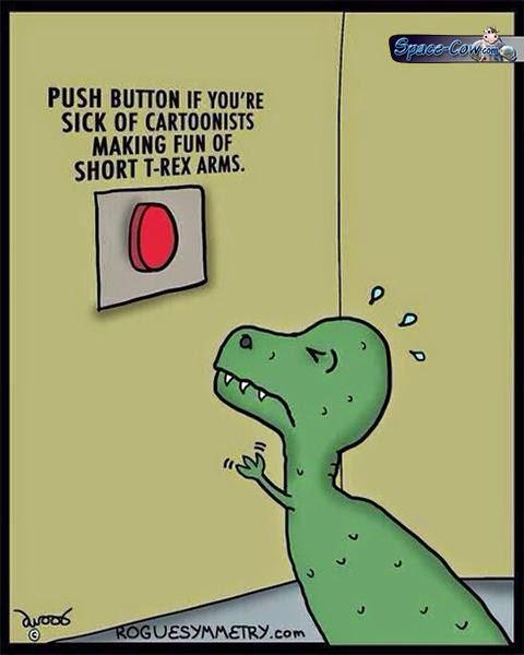 funny comics T-Rex humor