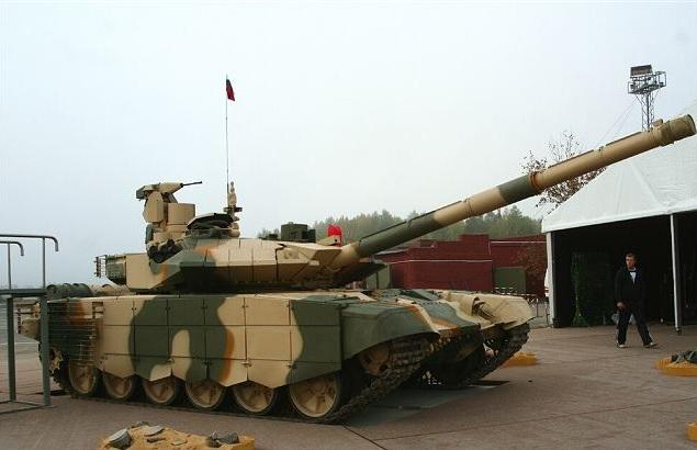 Ruský tank T-90MS #Technologie