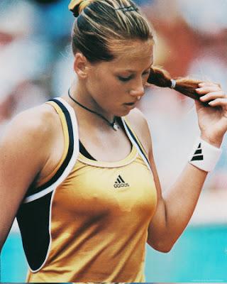 deportistas famosos Anna Kournikova