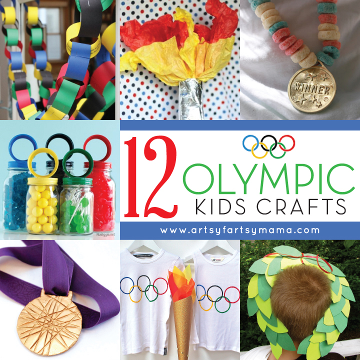 12 Olympic Kids Crafts
