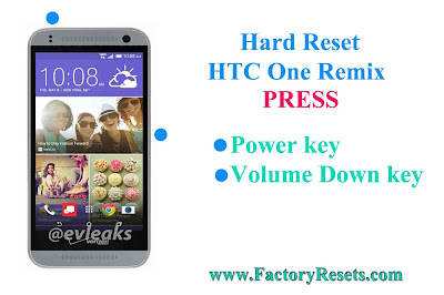 Hard Reset HTC One Remix