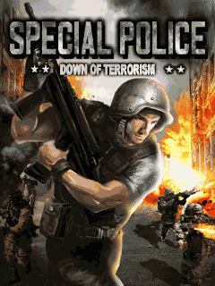 Special Police Down of Terrorism 240x320 TouchScreen