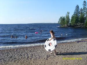 Kaupinoja oiva paikka harjoitella uimista