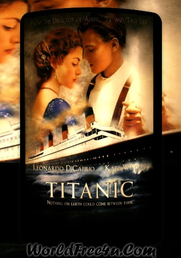 Poster Of Titanic (1997) In Hindi English Dual Audio 300MB Compressed Small Size Pc Movie Free Download Only At worldfree4u.com