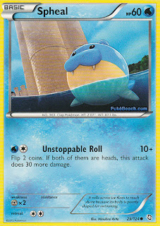 Spheal Dragons Exalted Pokemon Card