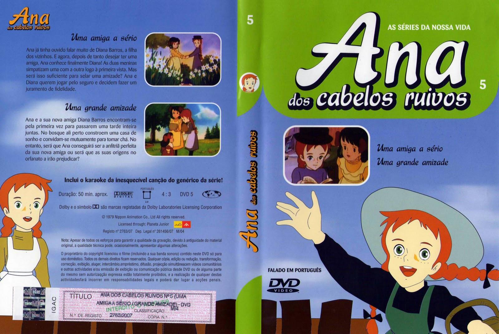 Ana dos Cabelos Ruivos Vol.1 A 25  PT-PT Ana+Dos+Cabelos+Ruivos+-+Vol.5