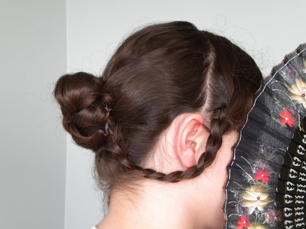 hair styles braided victorian