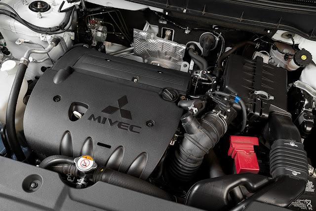 Động cơ MIVEC trên xe Mitsubishi Outlander Sport