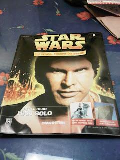deagostini star wars han solo magazine