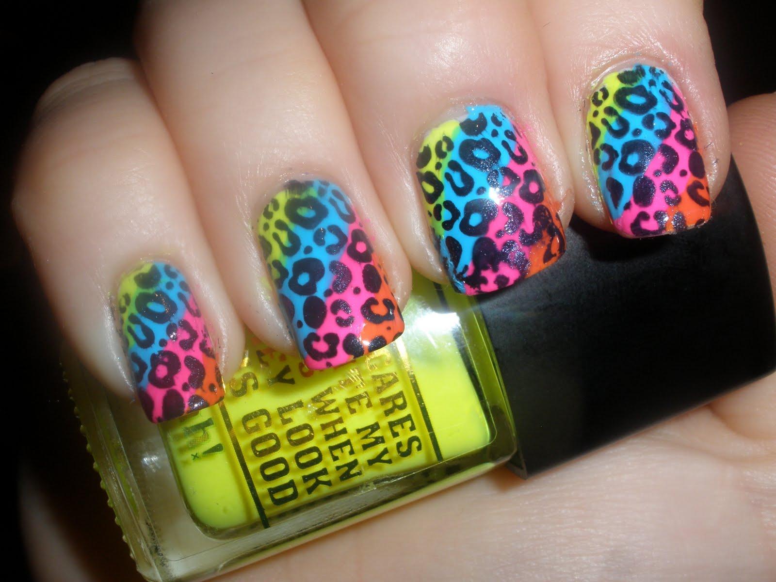 Cheetah Nail Designs Pccala