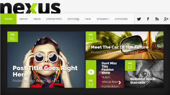 Download Nexus WordPress Theme - Elegantthemes