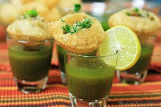 Calcutta puchka recipe, crispy chaat recipe,indian snacks recipe, indian street food recipe,