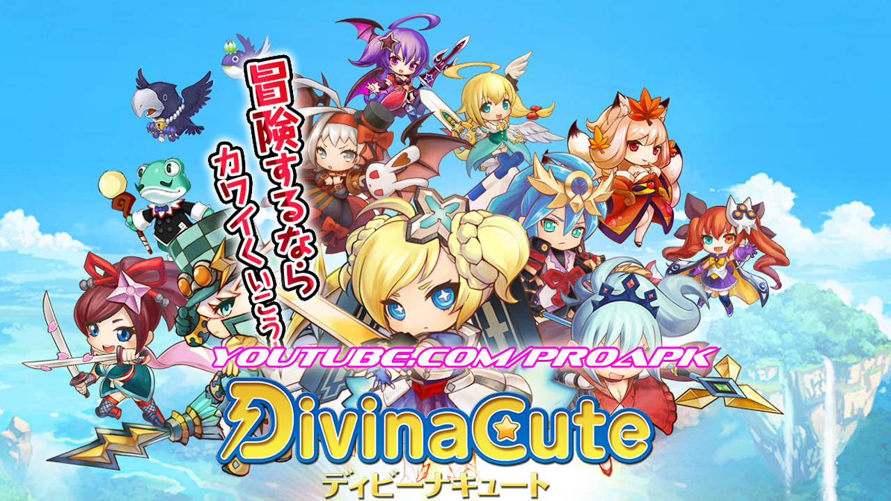Divina Cute (JP) Gameplay IOS / Android