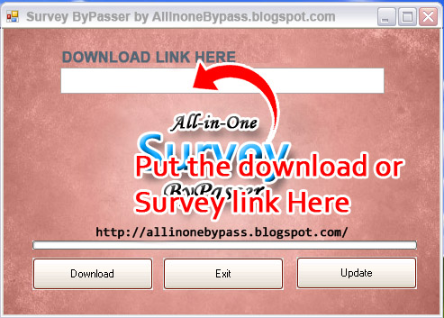 All-in-One Survey Bypasser - Free Download: Tutorial