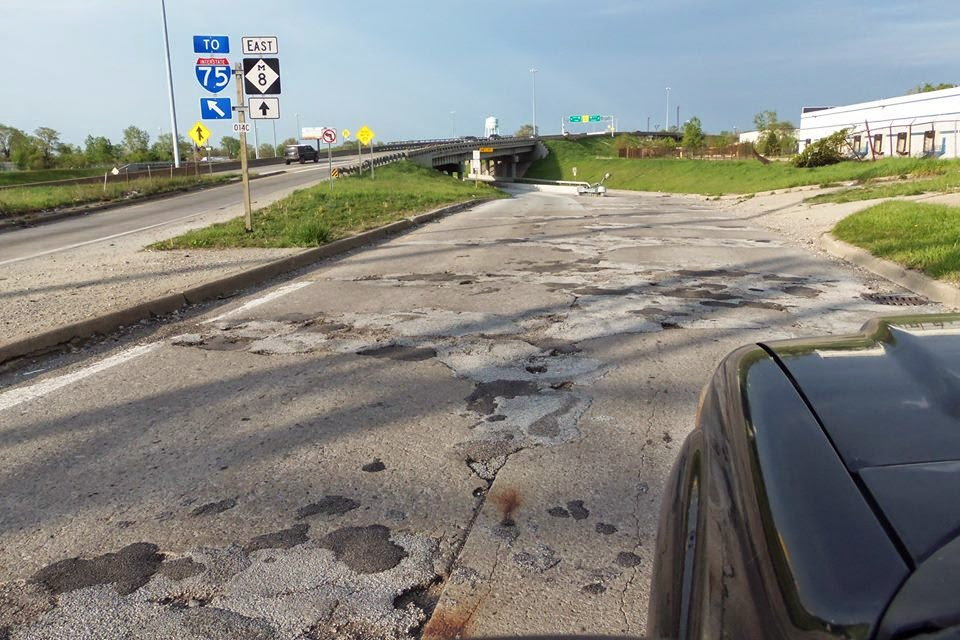 Friends of George Cushingberry Jr.: M8 is The Worst Road in the ...