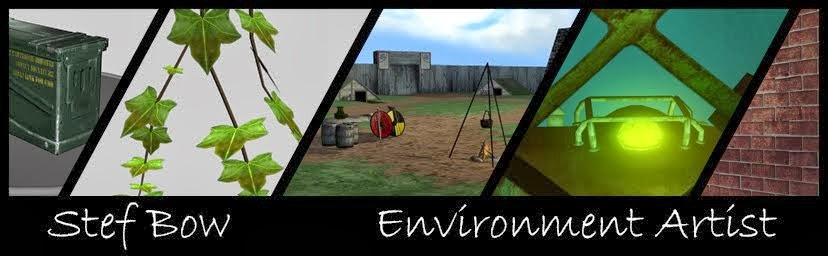 Stef Bow | 3D Artist | Environment Artist