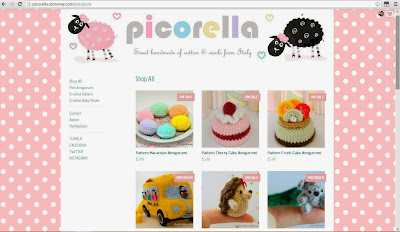 storenvy, picorella, shop, crafts, handmade, crochet, pink, pastel, polkadot, crochet, italy, indonesia, wools, yarns, knits, pattern, uncinetto