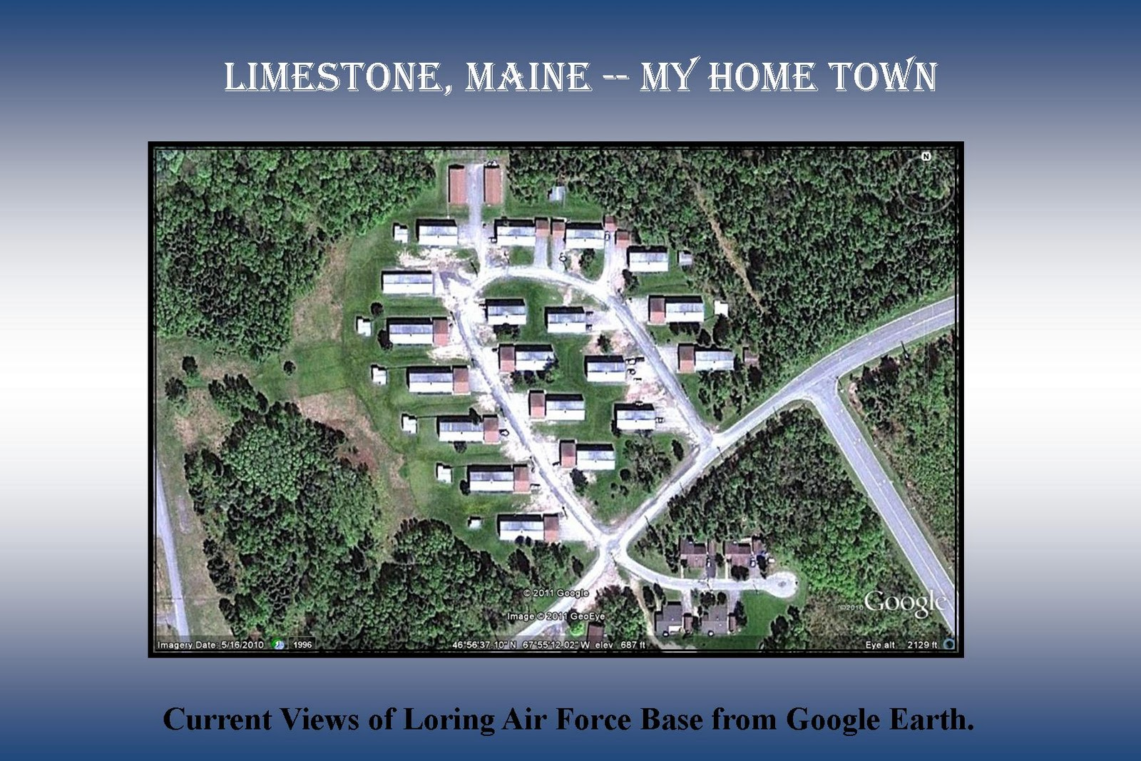 Limestone Maine My Home Town September 2011