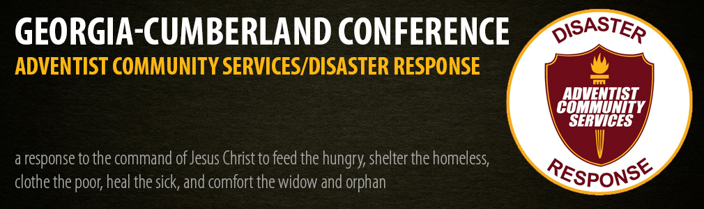 GCC Adventist Community Services/Disaster Response