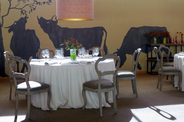 Comedor del Restaurante La Salgar en Gijon