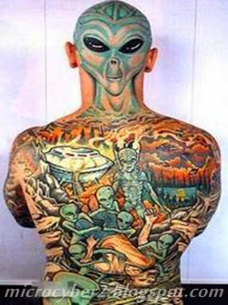Full Tatto Alien