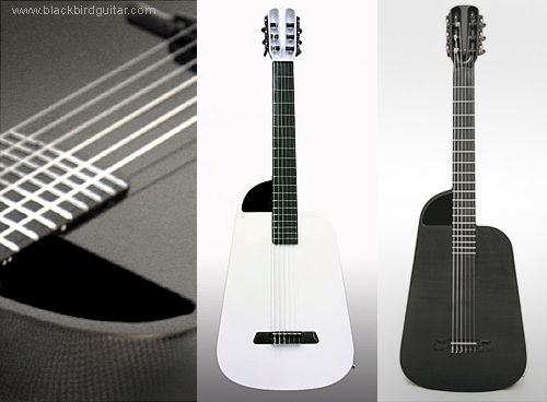 Blackbird Rider Nylon String guitar. Carbon fibre harmonics.