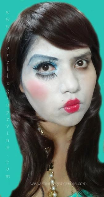 Halloween Doll Look