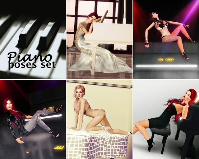 Piano set Pianoposes
