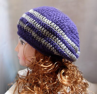 Sunset Slouchy Hat - Free Crochet Pattern