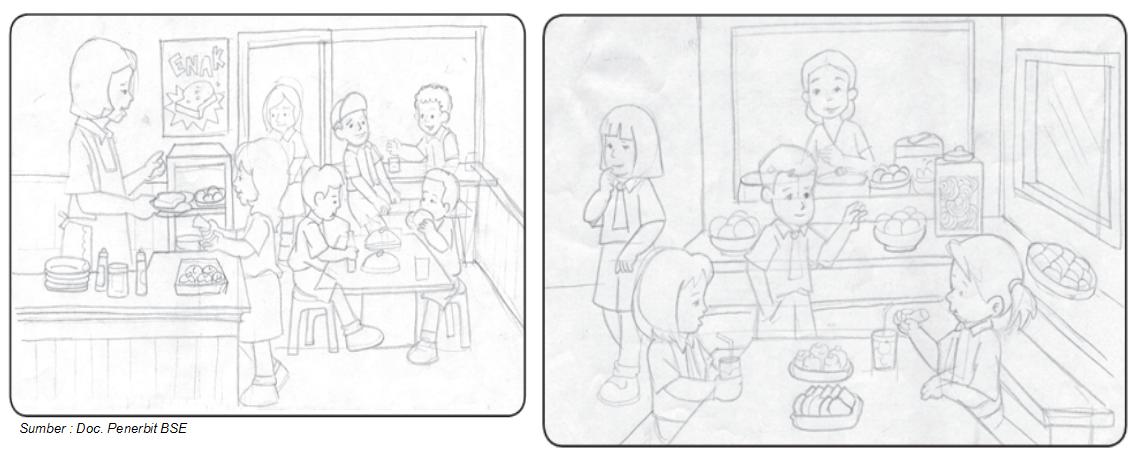 Gambar Ilustrasi - Materi Pelajaran SD