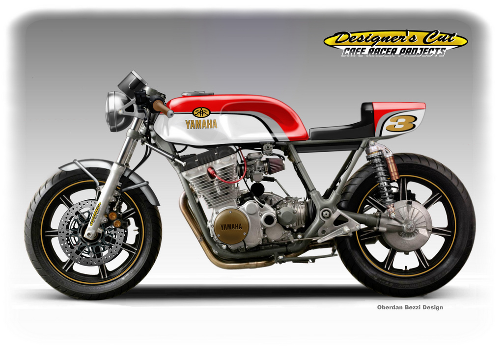 Yamaha Xs  E Cafe Racer