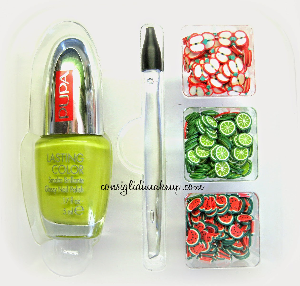 pupa nail art mania juicy fruits