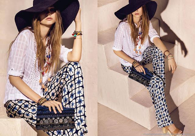 Pantalones primavera verano 2016 Rapsodia.