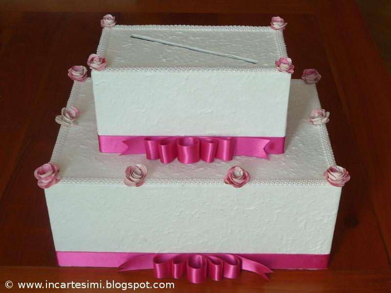 spesso Incartesimi: Scatola portabuste (money-box) per Chiara e Marco LB93