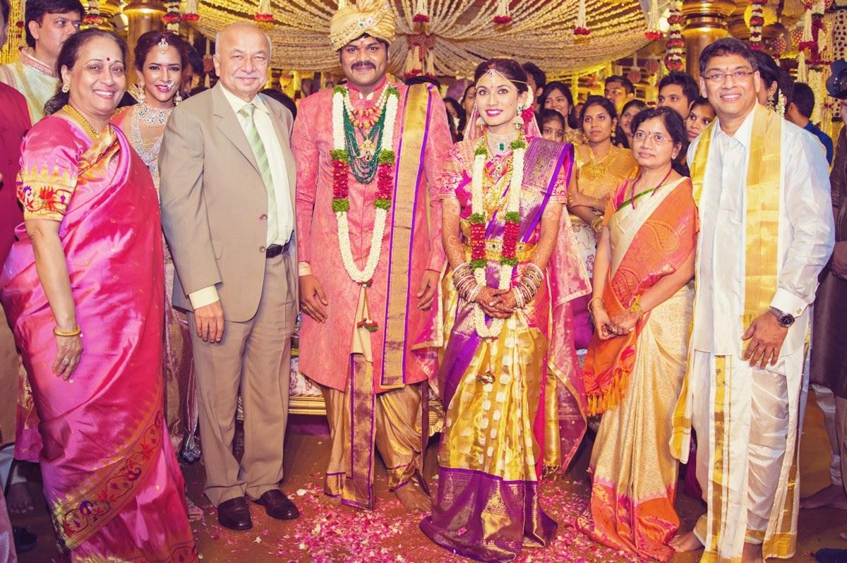 Manoj Pranitha Wedding Photos Gallery HQ Photo 7