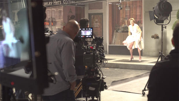 "Willem Defoe as Marilyn Monroe in Snickers ""Marilyn"" Super Bowl Ad, + A Behind The Scenes Look"