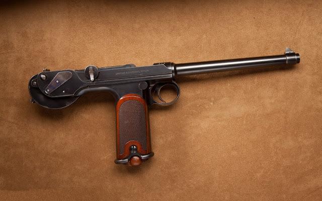 Pistola German Borchardt 1893