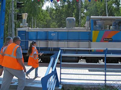 Казанская детская железная дорога, бригада обходчиков