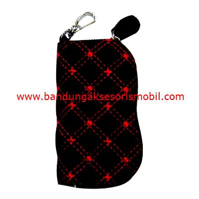 Dompet STNK VIP Merah-Hitam