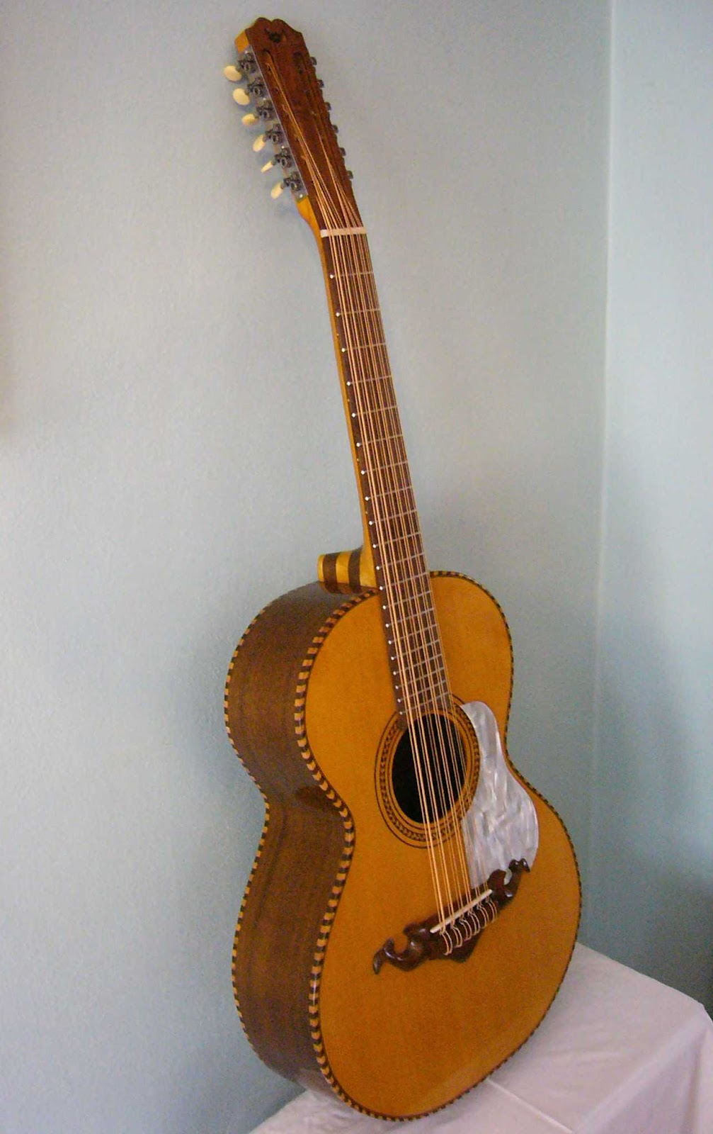 From The Bench Fraulini Guitars Building A Bajo Sexto