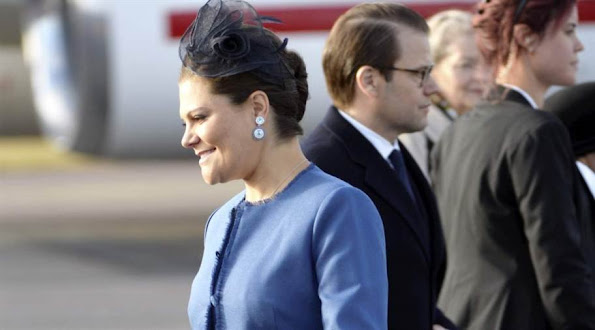 King Carl Gustaf and Queen Silvia, Crown Princess Victoria and Prince Daniel State Visit To Tunisia - Beji CaÔd Essebsi and his wife Saida CaÔd