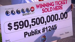 Suspense ends over Powerball jackpot
