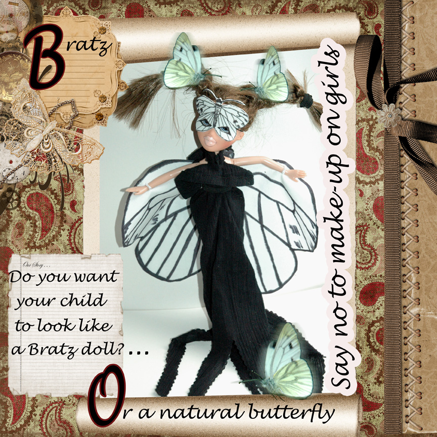 Bratz+doll+white+butterfly+costume+handmade+by+Sharon+J.+Bainbridge+Butterfly+Lullaby Ed. Note: The writers of this post, Kayla and Naomi, are two of the teens ...