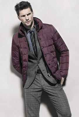 chaquetas acolchadas hombre 2013