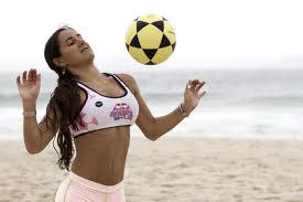 No hay playas de Brasil sin deportes